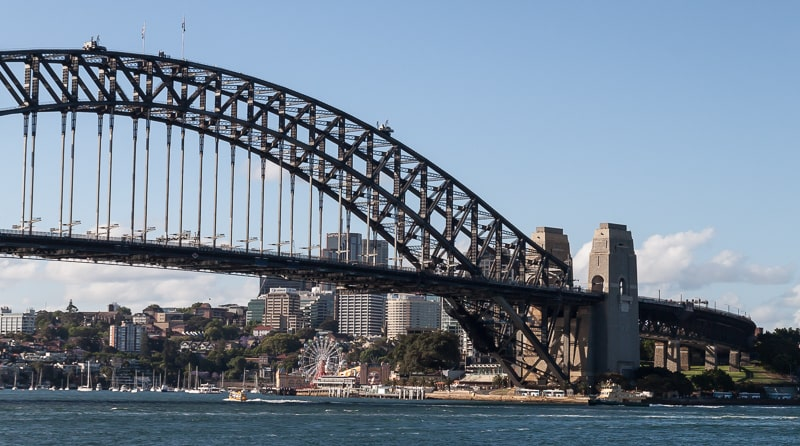 Die Harbour Bridge in Sydney