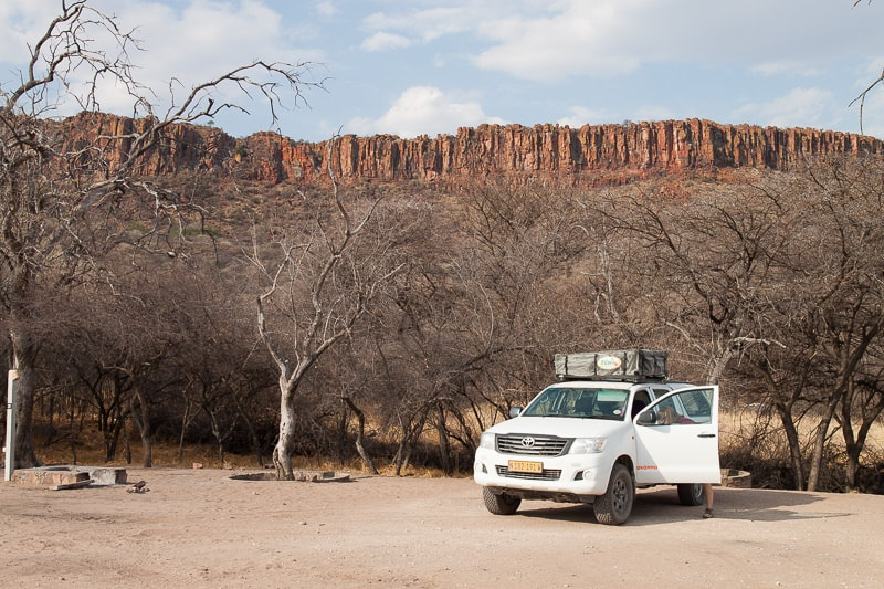 Camp am Waterberg Plateau
